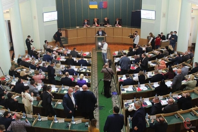 Сесія Хмельницької облради: формування комісій та зарплата голови ради (Запис ефіру)