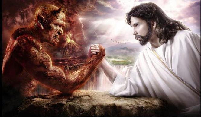 идет в постоянной борьбе добра со злом, веры с неверием, правды с неправдой