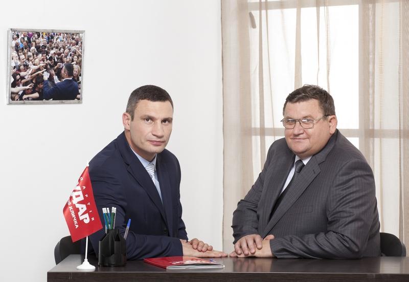 Кличко і Товкайло