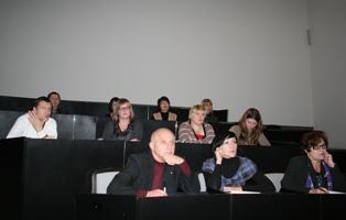 Члени робочої групи ознайомились із презентацією програмного продукту системи електронного документообігу компанії «Інтерсофт» з Донецька.
