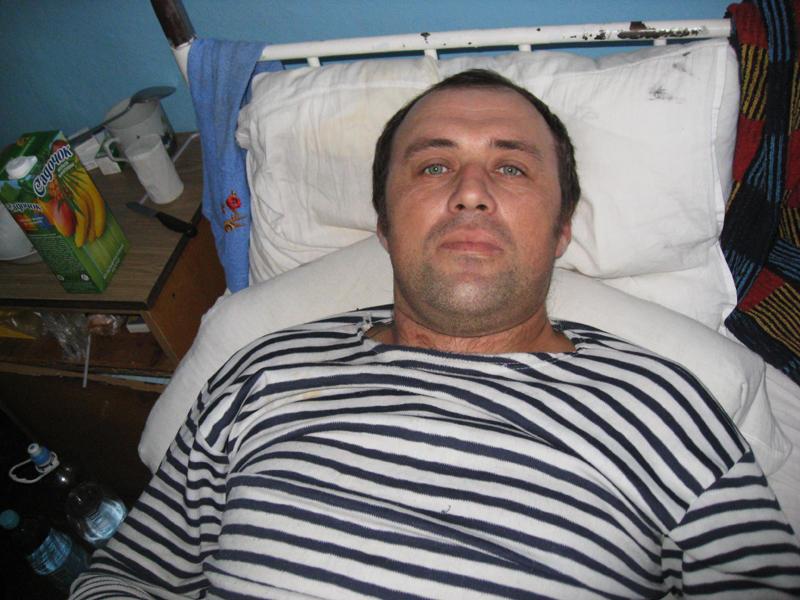 Після того, як Володимира Майструка переїхав трактор,  чоловік півтора місяця провів у лікарні.