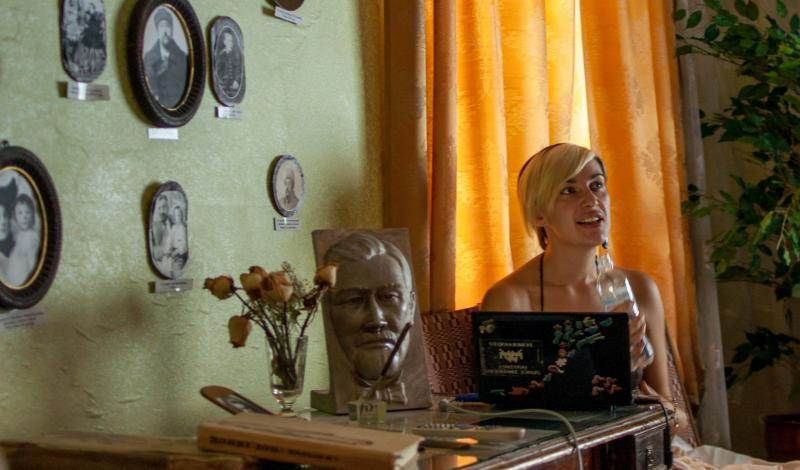 Тамара Злобіна про мистецтво, політику. Фото Вуличний Університет