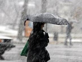 На завтра обіцяють сніг з дощем