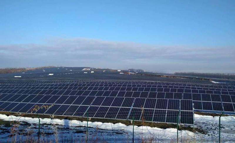 В сонячну електростанцію інвестували 72 мільйона євро