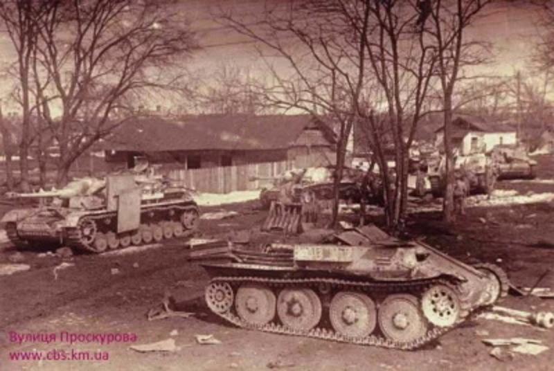 Впродовж 11-12 березня радянські війська вийшли на околиці Проскурова