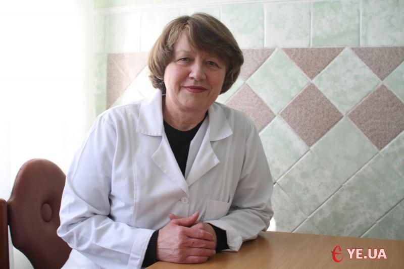 Лікар-інфекціоніст Хмельницької міської поліклініки №1 Надія Мельниченко