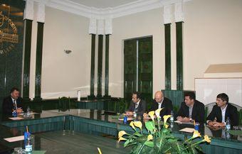 Під час зустрічі міський голова Хмельницького обговорив перспективи співпраці з інвесторами.