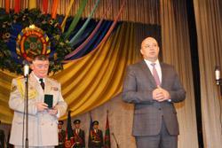 Василь Ядуха висловив глибоку вдячність ректорам академії.