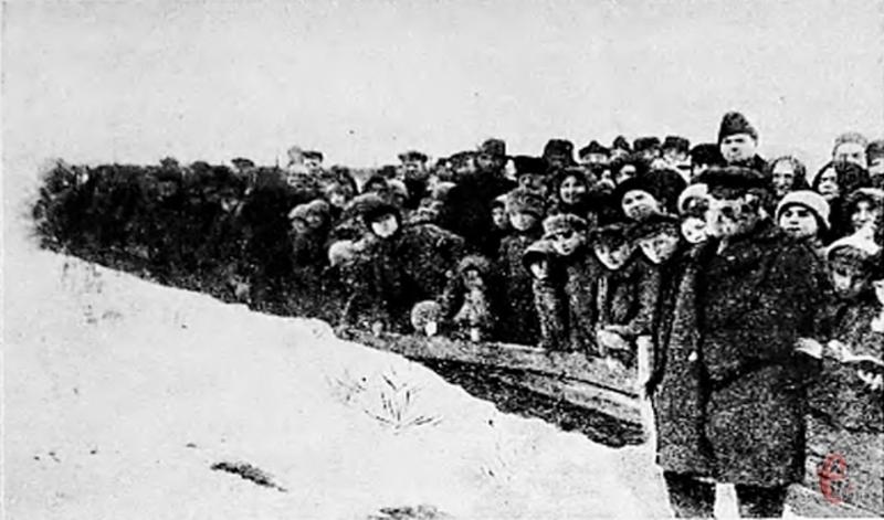 17 лютого 1919 року почали хоронити жертв Проскурівського погрому
