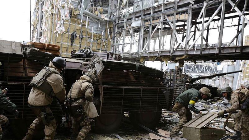 20 січня 2015 року упала вежа Донецького аеропорту...