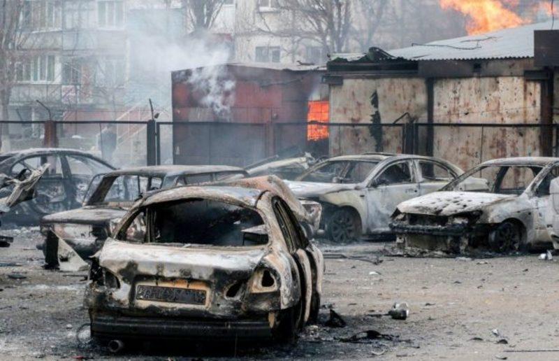 24 січня 2015 року терористи обстріляли Маріуполь