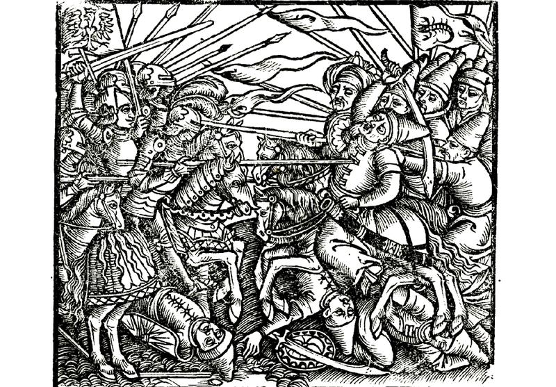 25 січня 1491 року під Заславом (нині Ізяслав) об\'єднані війська Волинської і Львівської земель завдали вирішального удару загарбницькому війську Великої Орди