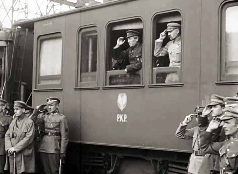 Симон Петлюра та Юзеф Пілсудський у Вінниці, 1920 рік