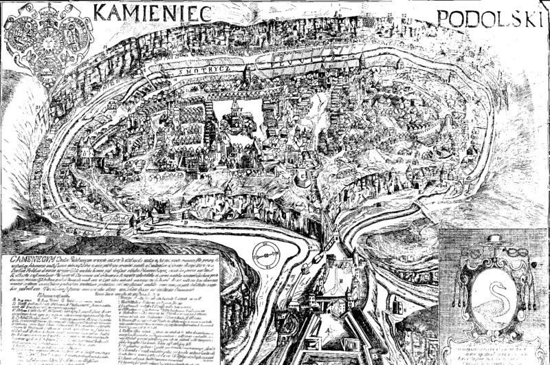 Зображенням Кам'янця 1672 року авторства Кипріяна Томашевича