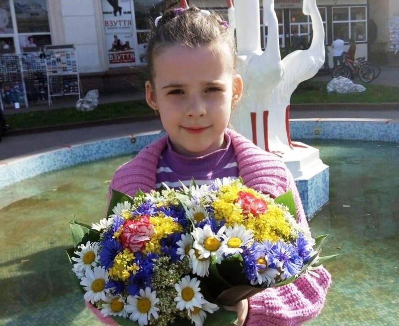 8-річна Дарина Мороз є ученицею школи мистецтв та учасницею зразкового дитячого фольклорного гурту «Берегиня»