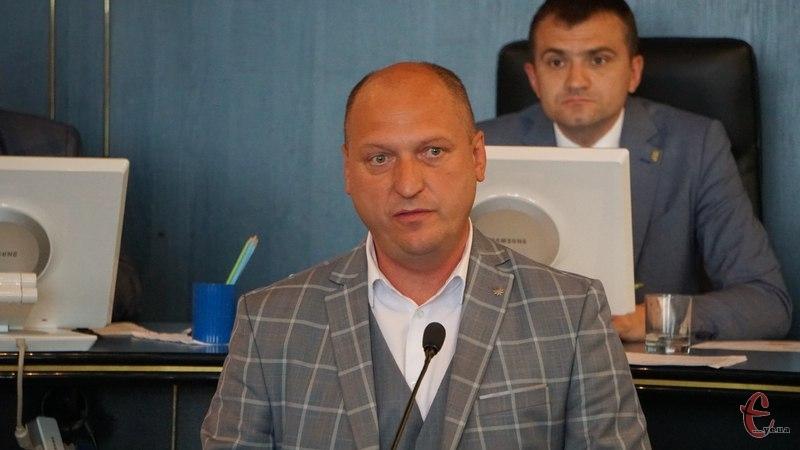 Вадим Лозовий відвідав сесію Хмельницької міської ради.