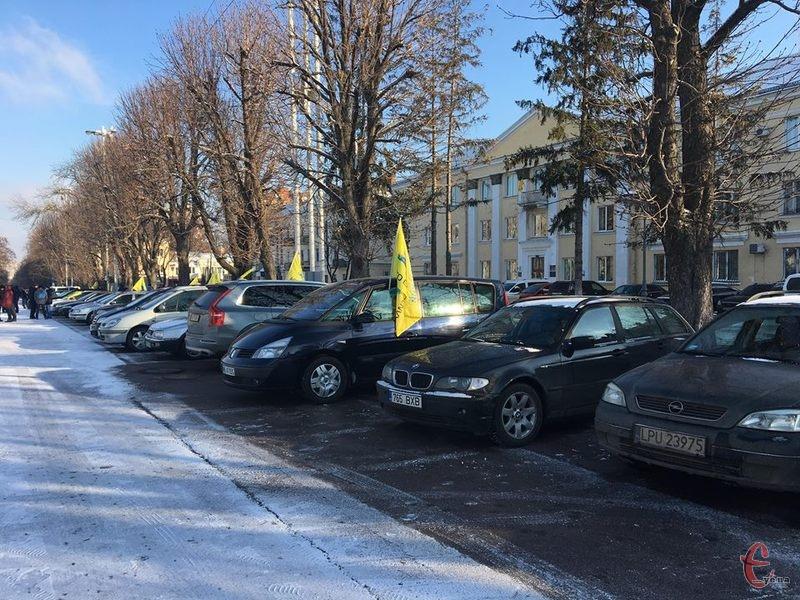 Акція розпочалася у Хмельницькому о 10.00 годині на Майдані Незалежності