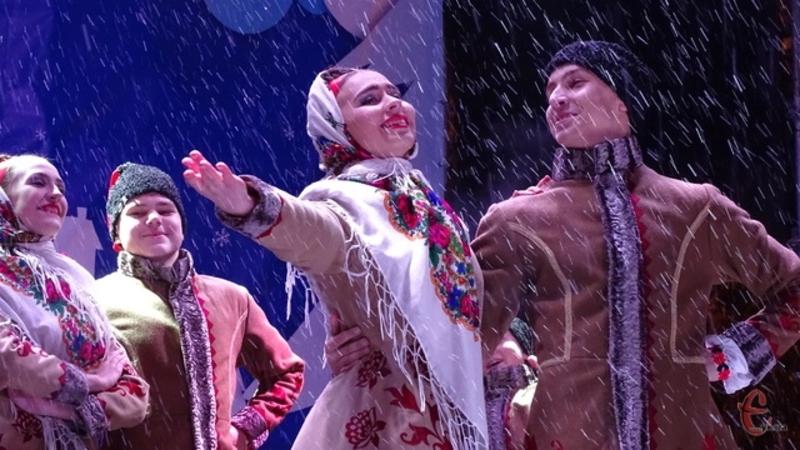 Останніми роками у Хмельницькому на території Різдвяного ярмарку відтворювали традиційні Андріївські гуляння
