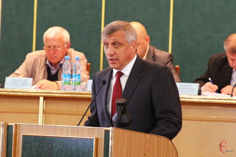 Михайлу Загородному, голові Хмельницької ОДА, уряд оголосив догану.