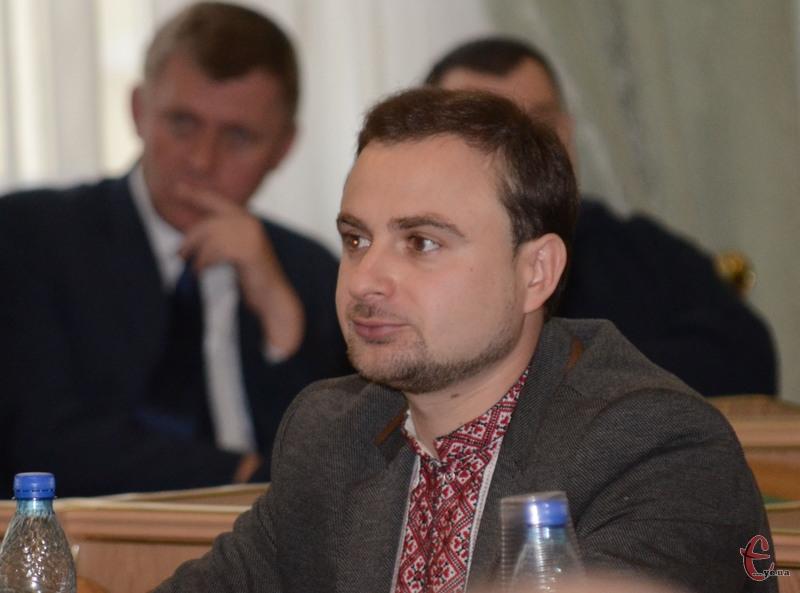 Артем Ромасюков обіцяв створити режисерську групу для організації міських свят.