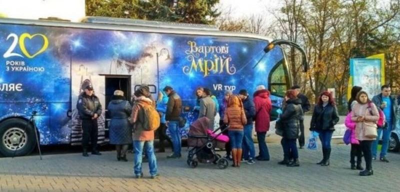 Хмельничани зможуть у панорамному відео подивитися сюжет зимової казки