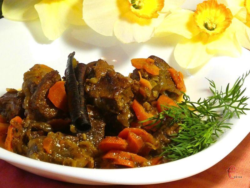 Процес приготування не займає багато часу і в результаті – приголомшливо смачне м'ясо!