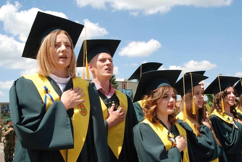 Урочисте дійство розпочалось із спільного виконання Державного Гімну України