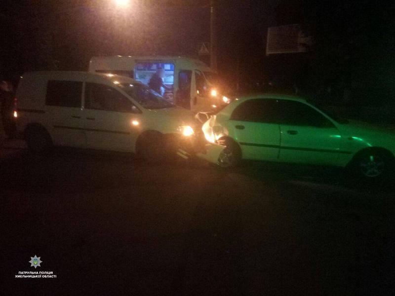 Нетверезий водій спричинив ДТП у Хмельницькому — «Драгер» показав 2, 25 проміле