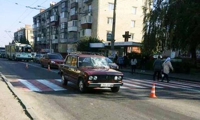 Аварія сталася по вулиці Кам'янецькій, поблизу дитячої лікарні