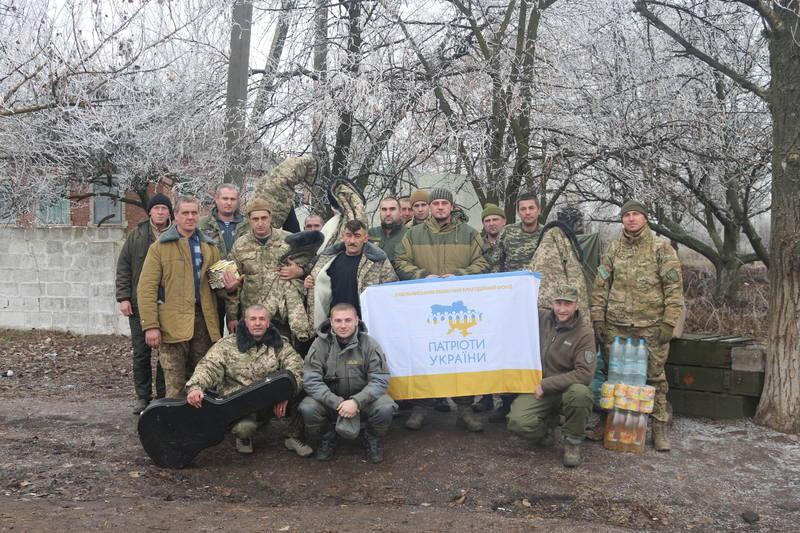 Волонтери передали допомогу землякам на Схід