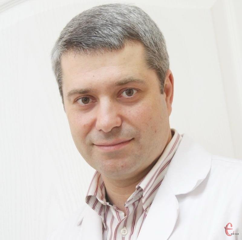 Дмитро Кушніренко, лікар гінеколог-ендокринолог із Хмельницького