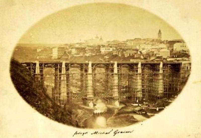 12 червня 1864-го стартувало будівництво Новопланівського мосту у Кам'янці-Подільському
