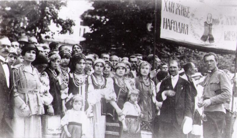 Національна маніфестація у Кам'янці-Подільському на честь Української Народної Республіки, серпень 1920 року