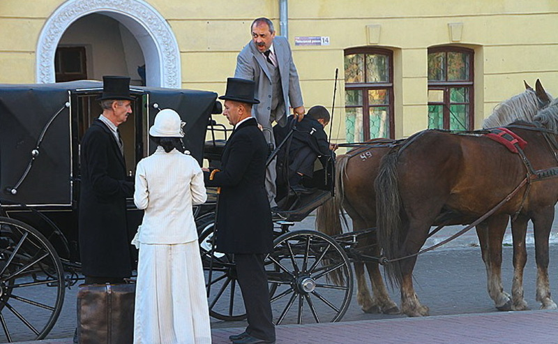 Під час зйомок «Івана Сили» в Кам'янці-Подільському