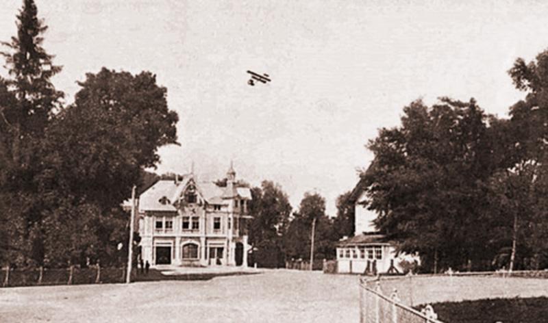 Політ Емануеля Малинського над Антонінами, 1911 рік