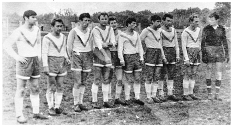 1968 рік - футбольна команда «Поділля» з Кам'янця-Подільського