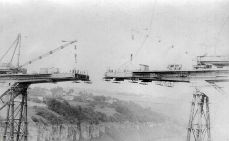 Будівництво мосту стрімка лань в Кам'янці-Подільському