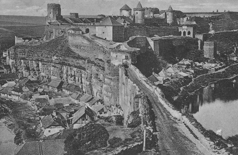 Замковий міст до реконструкції 1876 року