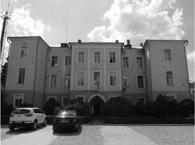 Так сьогодні виглядає будинок, у якому проходили зустрічі Товариства подільських лікарів.