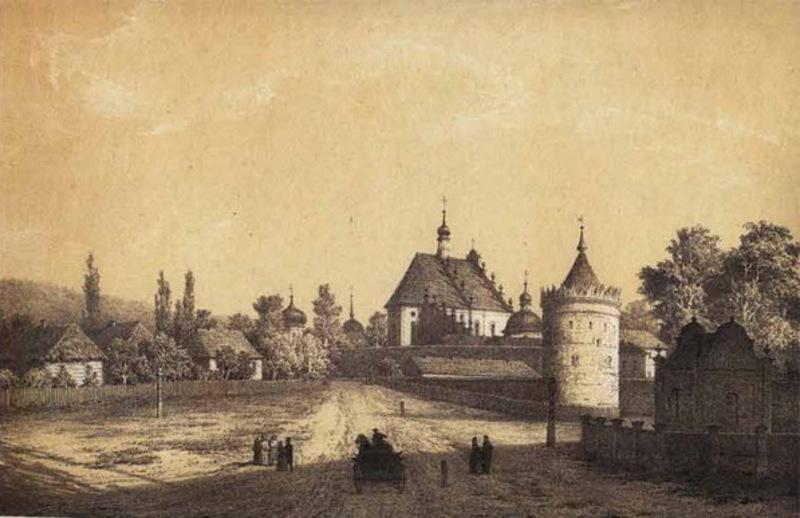 Літографія Наполеона Орди зі зображенням Летичева