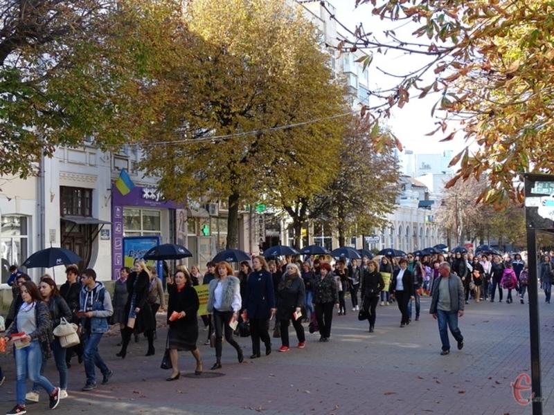 18 жовтня минулого року у Хмельницькому відбулась мовчазна