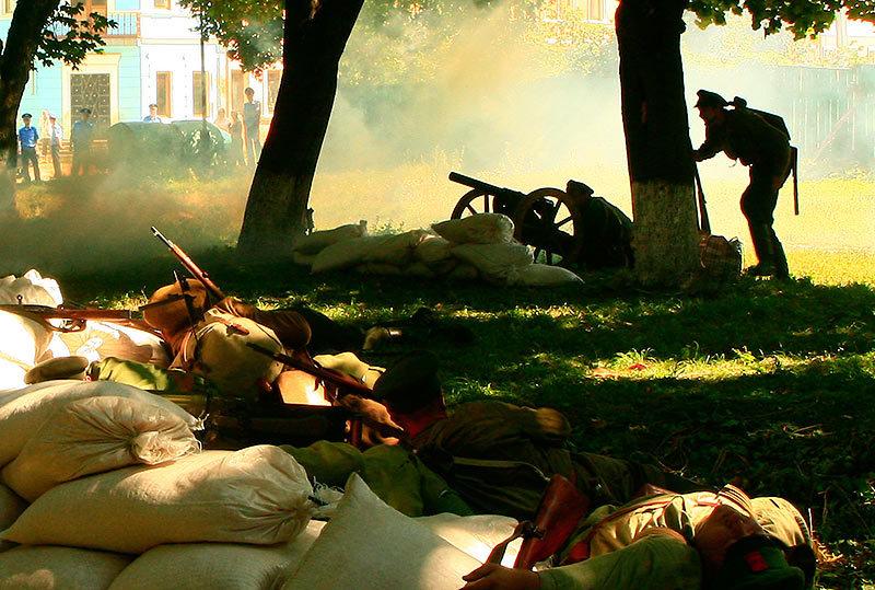 Бої у Кам'янець-Подільському. Військово-історична реконструкція