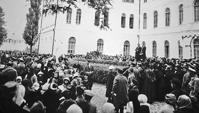 22 жовтня 1918 року відбулося урочисте відкриття Кам\'янець-Подільського державного університету
