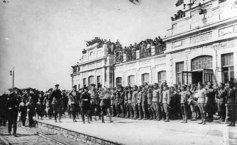 Міністр Олександр Керенський у Камянець-Подільському. 25 травня 1917 року