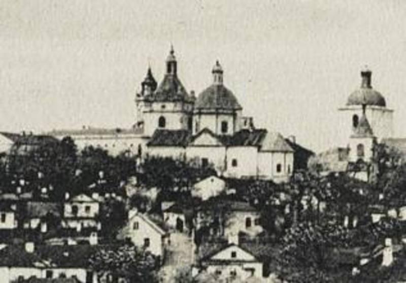 Вірменський храм на поштових листівках