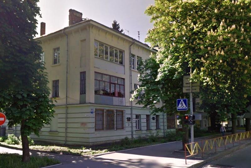 Останні десятиліття свого життя Микола Радзієвський прожив у будинку на вулиці Грушевського, 85