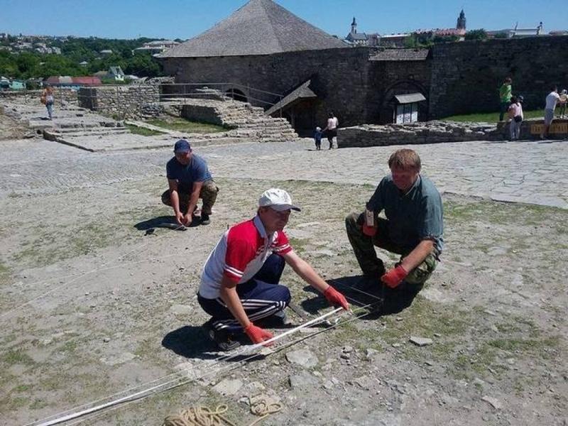 Минулого року 28 травня у Кам'янець-Подільській фортеці шукали старовинну церкву