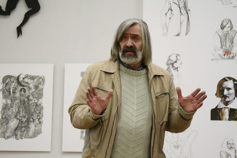 2 січня народився відомий хмельничанин, художник-монументаліст, живописець - Микола Іванович Мазур