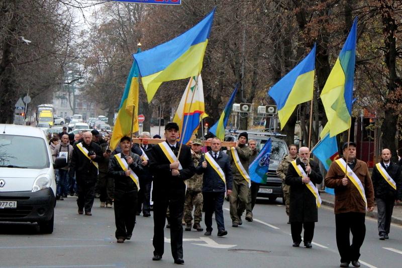 Минулого року 3 листопада у Хмельницькому відбулась молитовна хода