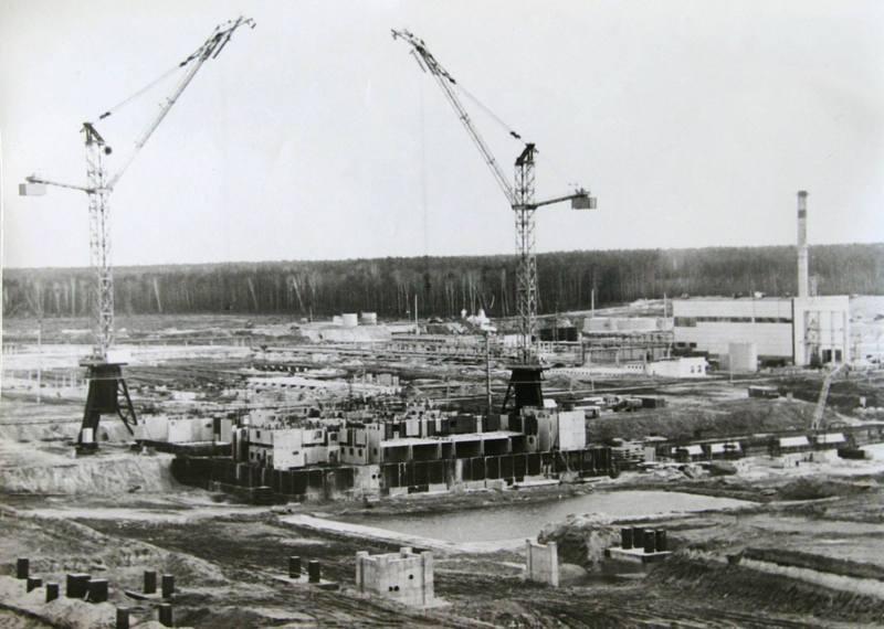 Будівництво Хмельницької АЕС